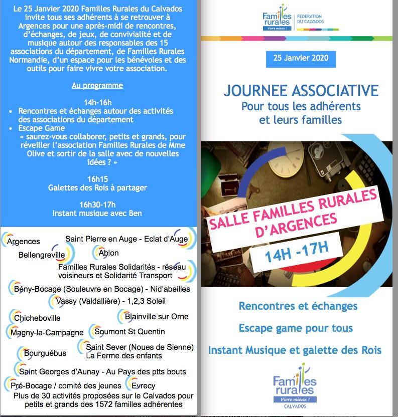 Invitation FD le 25 janvier 2020